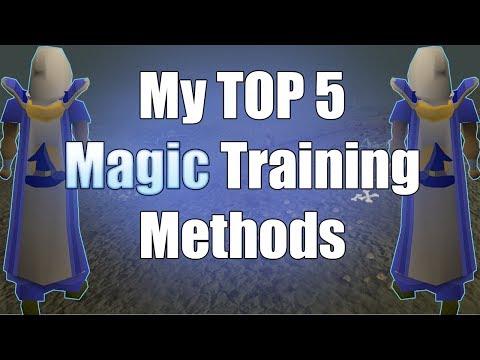 My 5 Favorite Ways To Train Magic In Old School Runescape