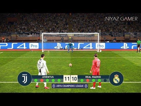 JUVENTUS vs REAL MADRID   Final UEFA Champions League - UCL   Penalty Shootout   PES 2019