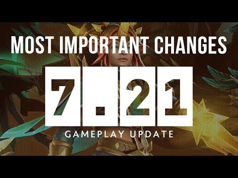 Dota 2 NEW 7.21 Patch GAMEPLAY UPDATE (General, Items & Dota Plus Update, New EXCLUSIVE SETS!) thumbnail