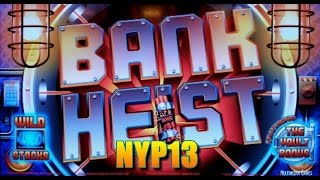 Multimedia Games - Bank Heist Slot Bonus