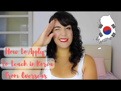 How to apply to teach in Korea from Overseas