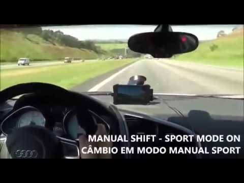 Audi R8 a 280km :-)