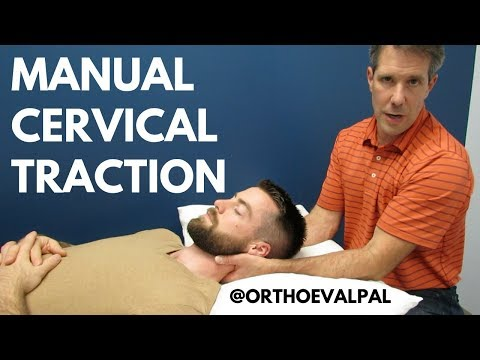 Cervical traction/How and
