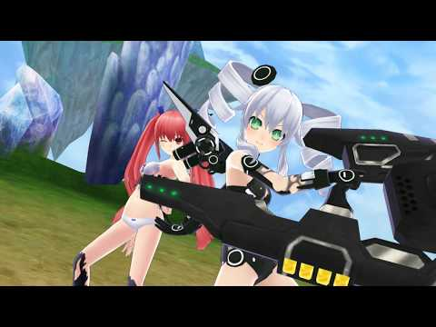 [HD] Hyperdimension Neptunia U Action Unleashed  - Clearing Black Regalty Quest |