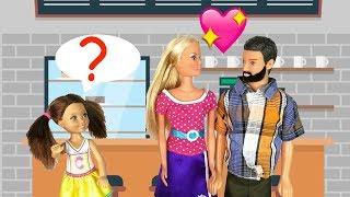 МОЙ ПАПА С МАМОЙ  ПОДРУГИ???  Мультик Куклы #Барби Ай Кукла тиви Школа Игрушки Для девочек
