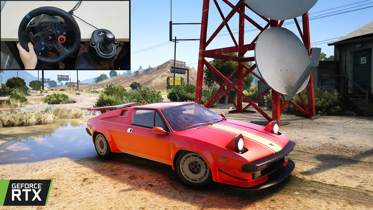 GTA V - 250HP!! Lamborghini Jalpa 1988 - DP Gaming GTA 5