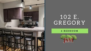 102 E. Gregory St. - 6 Bedroom Overview