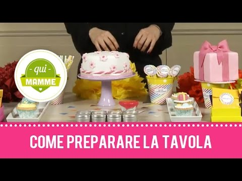 Come Preparare La Tavola Youtube