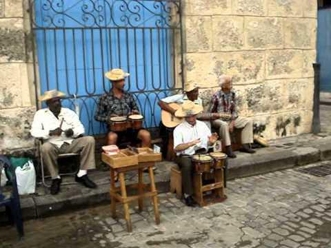 Musica cubana en la Habana Vieja