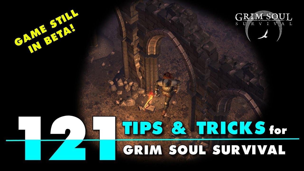 121 Tips and Tricks for Grim Soul Dark Fantasy Survival. LDOE Type Game