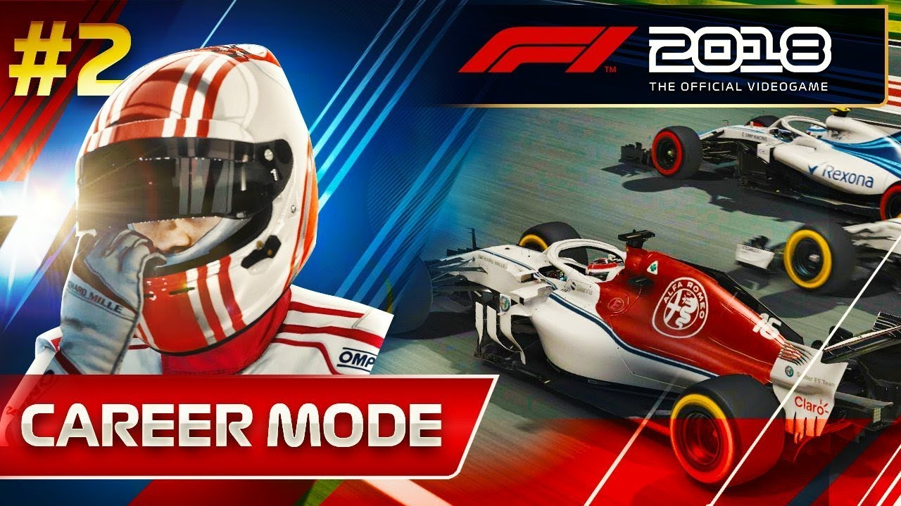 F1 2018 Career Mode Part 2: IS SAUBER A MISTAKE?