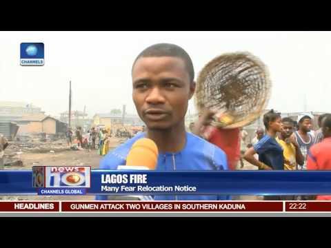 News@10: Raging Inferno Wrecks Havoc In Lagos 20/02/17 Pt.2