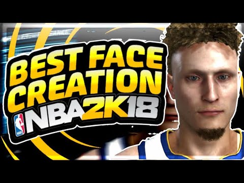 BEST FACE CREATION IN NBA 2K18🔥|BEST FACE TO LOOK LIKE A DRIBLE GOD💯|AJ 2K FACE CREATION NBA 2K18