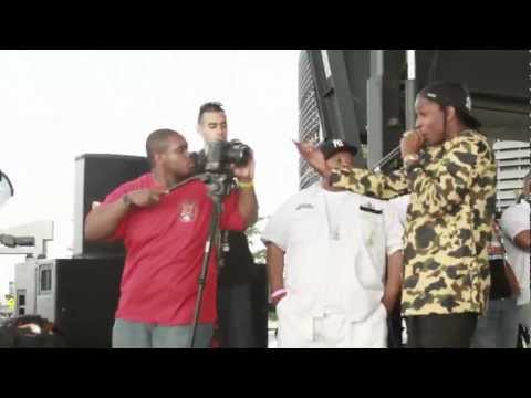 "A$AP ROCKY & SCHOOLBOY Q ""BRAND NEW GUY"" LIVE @ SUMMER JAM 2012 : BLOWHIPHOPTV.COM"