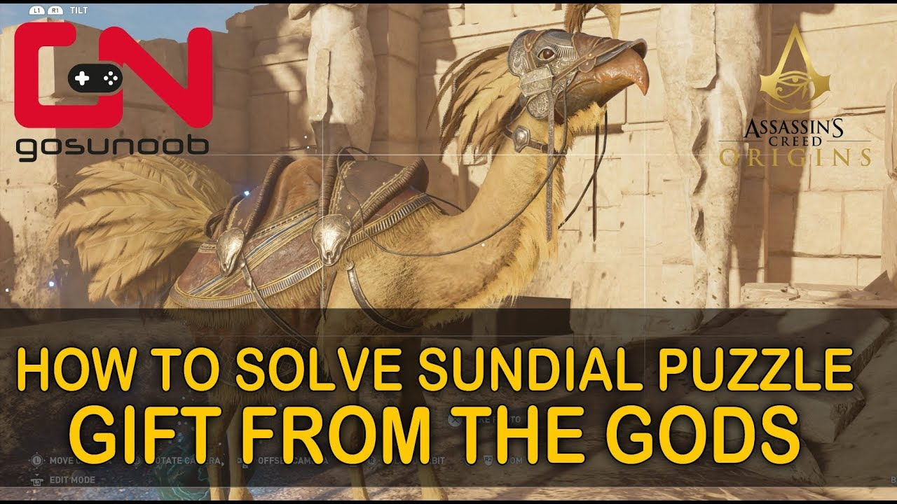 AC Origins Gift From The Gods Quest - How to Solve Sundial