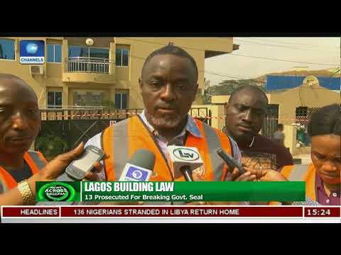 Lagos Govt Seals Church, Hotel Over Illegal Development |News Across Nigeria|