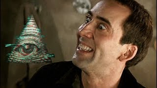 NICOLAS CAGE ISN'T EVEN HIDING THE FACT THAT HE WORSHIPS SATAN...