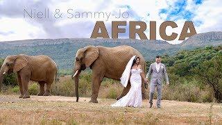 Niell & Sammy-Jo's Wedding at Askari   South Africa 4K