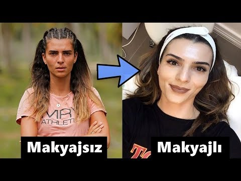 Survivor 2018 Yarışmacılarının Makyajlı Ve Makyajsız Halleri !