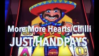 Handpay Collection: More More Hearts/Chilli Slot Machines recent handpays