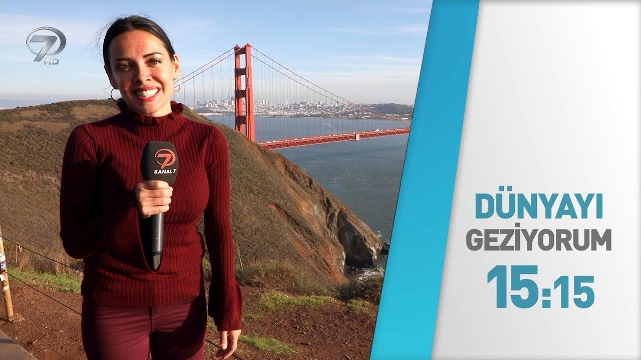 Dünyayı Geziyorum - 14 Ocak 2018 San Fransisco Tanıtım