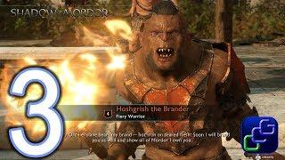 Middle Earth Shadow of War PC 2K Walkthrough - Part 3 - Captain Battles