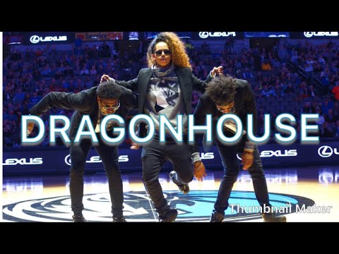 DragonHouse Mesmerizing Audience at Halftime