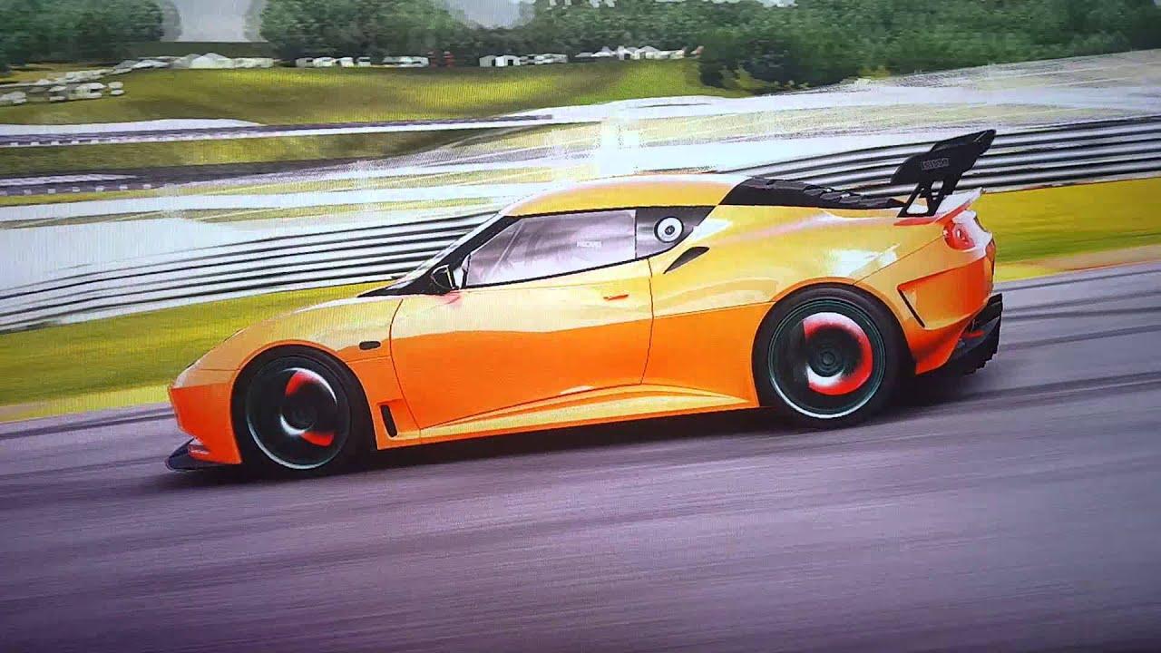 Forza 4, Lotus Evora Type 124 Race Car \'2009, 749 PS - YouTube