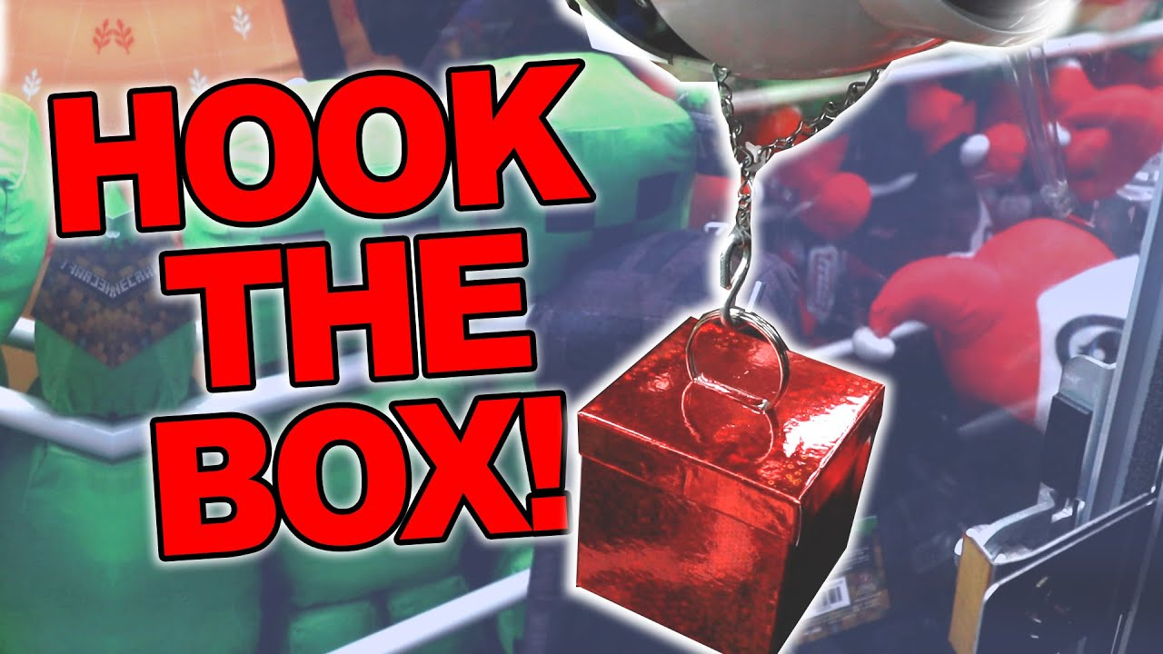 HOOK The Box and WIN The Prize In The Claw Machine!