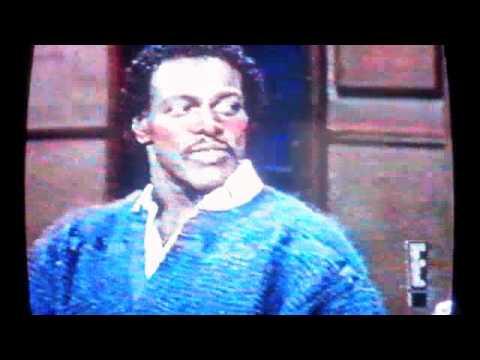 Walter Payton on Letterman