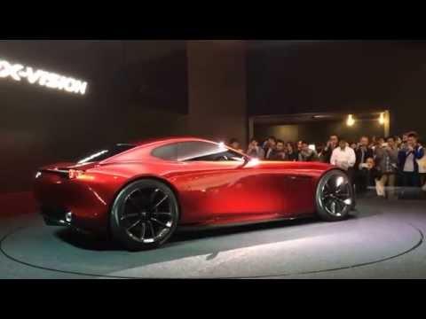 Mazda RX-VISION Concept At 44th Tokyo Motor Show 2015