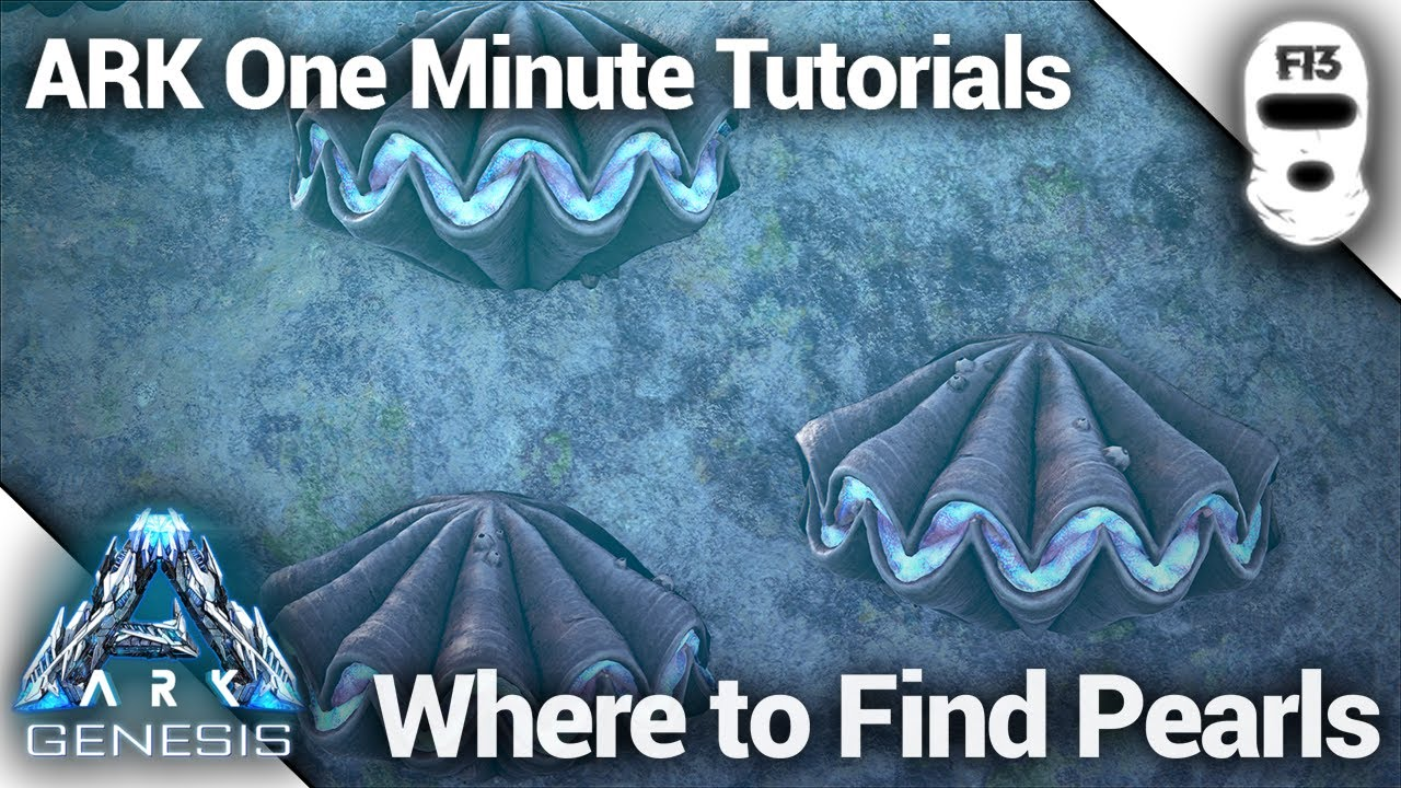 Where To Find Silica Pearls In Ark Genesis Ark Survival Evolved One Minute Tutorials Youtube A guide on where to farm element and more black pearls! where to find silica pearls in ark genesis ark survival evolved one minute tutorials