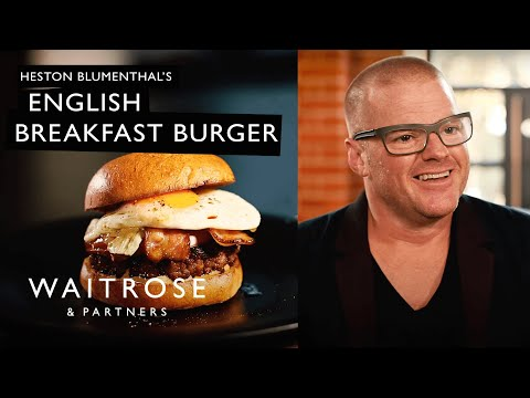 Heston Blumenthal's English Breakfast Burger | Waitrose