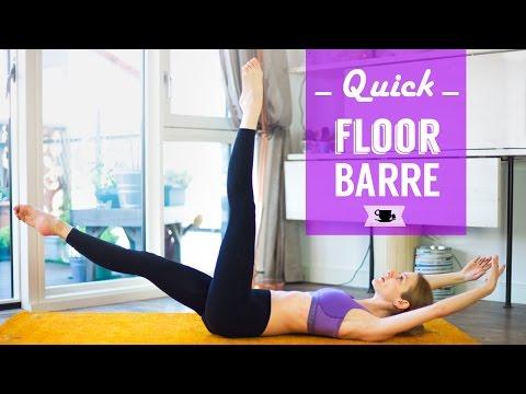 Quick Floor Barre Class | Lazy Dancer Tips