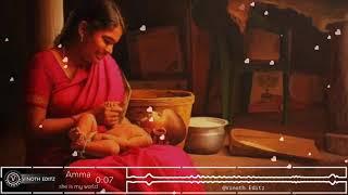 Amma whatsapp status tamil|| Tamil mother song whatsapp status||pathu masam enna sumanthu
