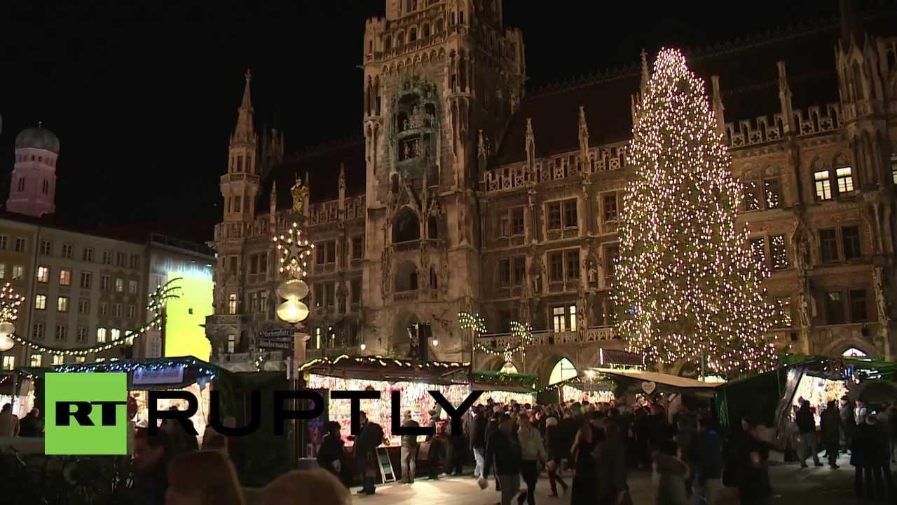 Christmas In Munich Germany.Germany Munich Opens The Gates Of Christmas Wonderland