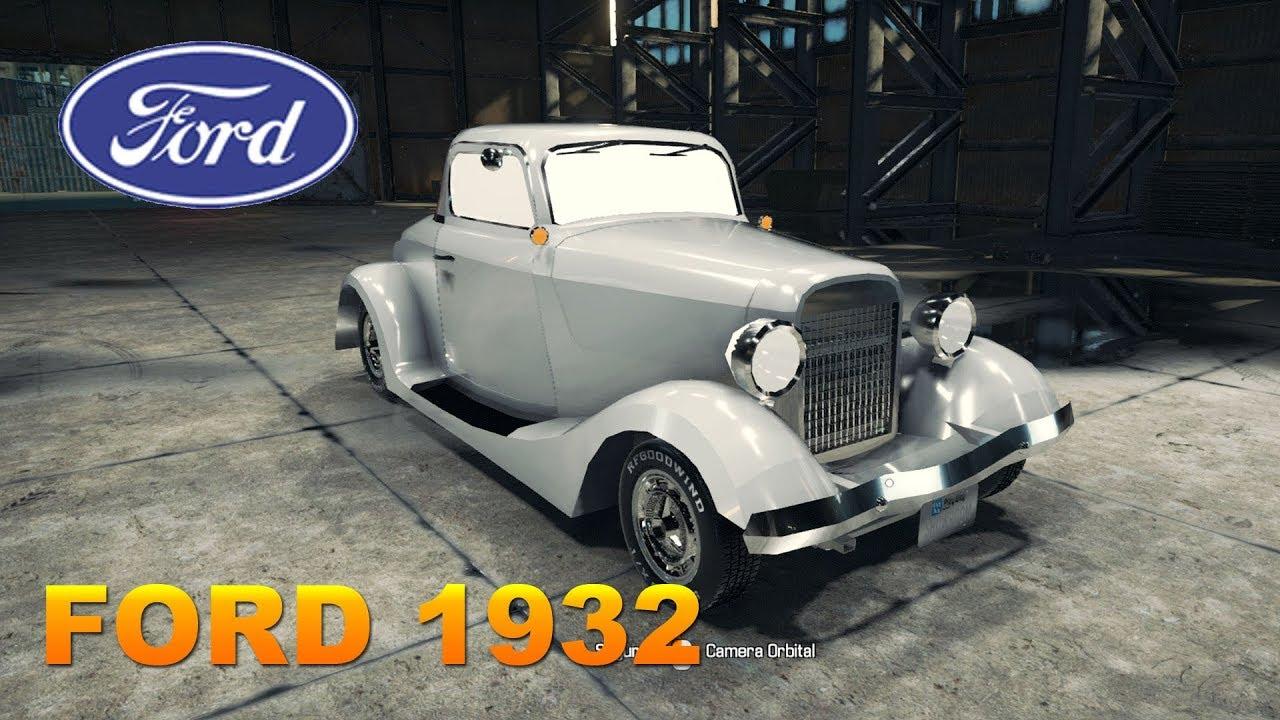 Car Mechanic Simulator 2018: Mod de carro - Ford 1932 - YouTube