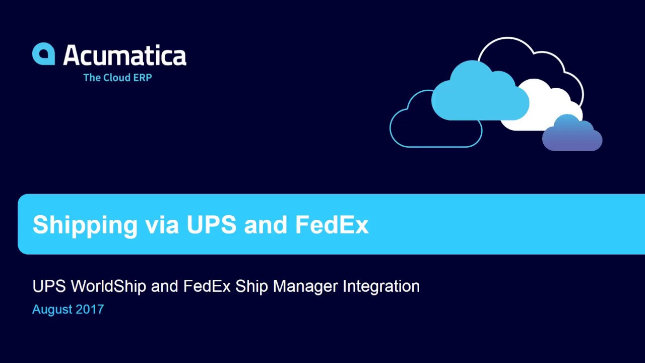 fedex erp As an industry-leading reverse logistics provider, fedex supply chain transforms the returns process from a necessary cost of doing business into a strategic advantage reverse logistics often operates independently, but by working with us to create and implement an integrated strategy, you will optimize recovery potential.
