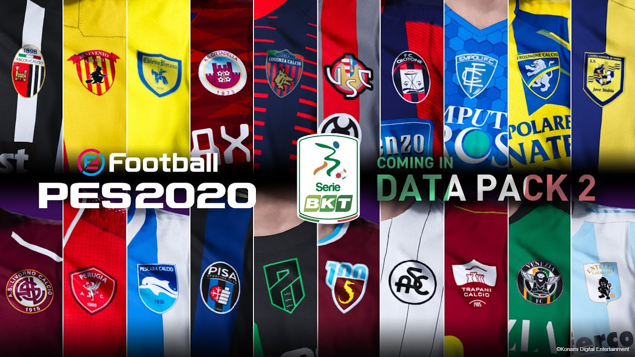 eFootball PES 2020 - Serie B Announcement Trailer - YouTube