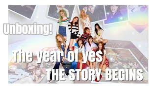 【過去CD開封】The year of yes, THE STORY BEGINS