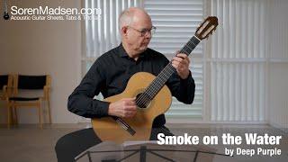 Smoke on the Water by Deep Purple - Danish Guitar Performance - Soren Madsen