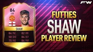 FIFA 17 FUTTIES SHAW Review 84 w In Game Stats  Gameplay