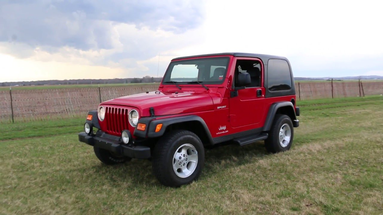 2003 Jeep Wrangler Sport For Sale~Straight 6~Auto~Extras~Beautiful