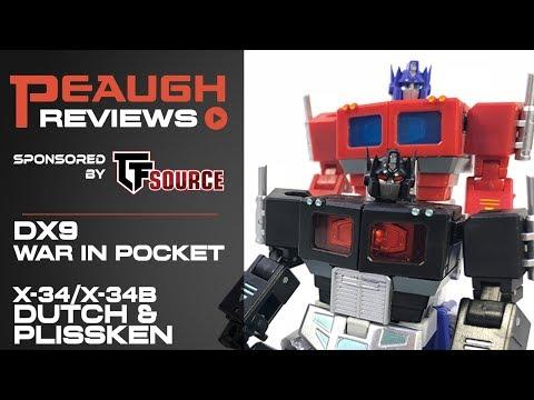 Video Review: DX9 War in Pocket X-34/B DUTCH and PLISSKEN
