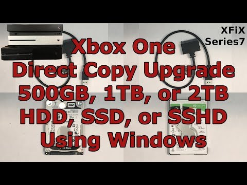 Xbox One Internal Hard Drive Upgrade or Repair: Build any