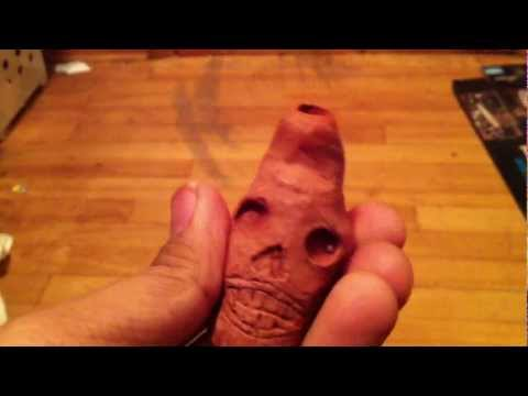 Homemade Aztec Death Whistle