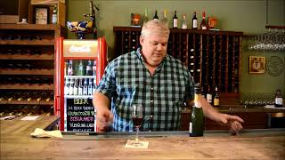 Bruno Windham of Twisted Grape Cafe' & Wine Bar demonstrates the Twisted Grape.