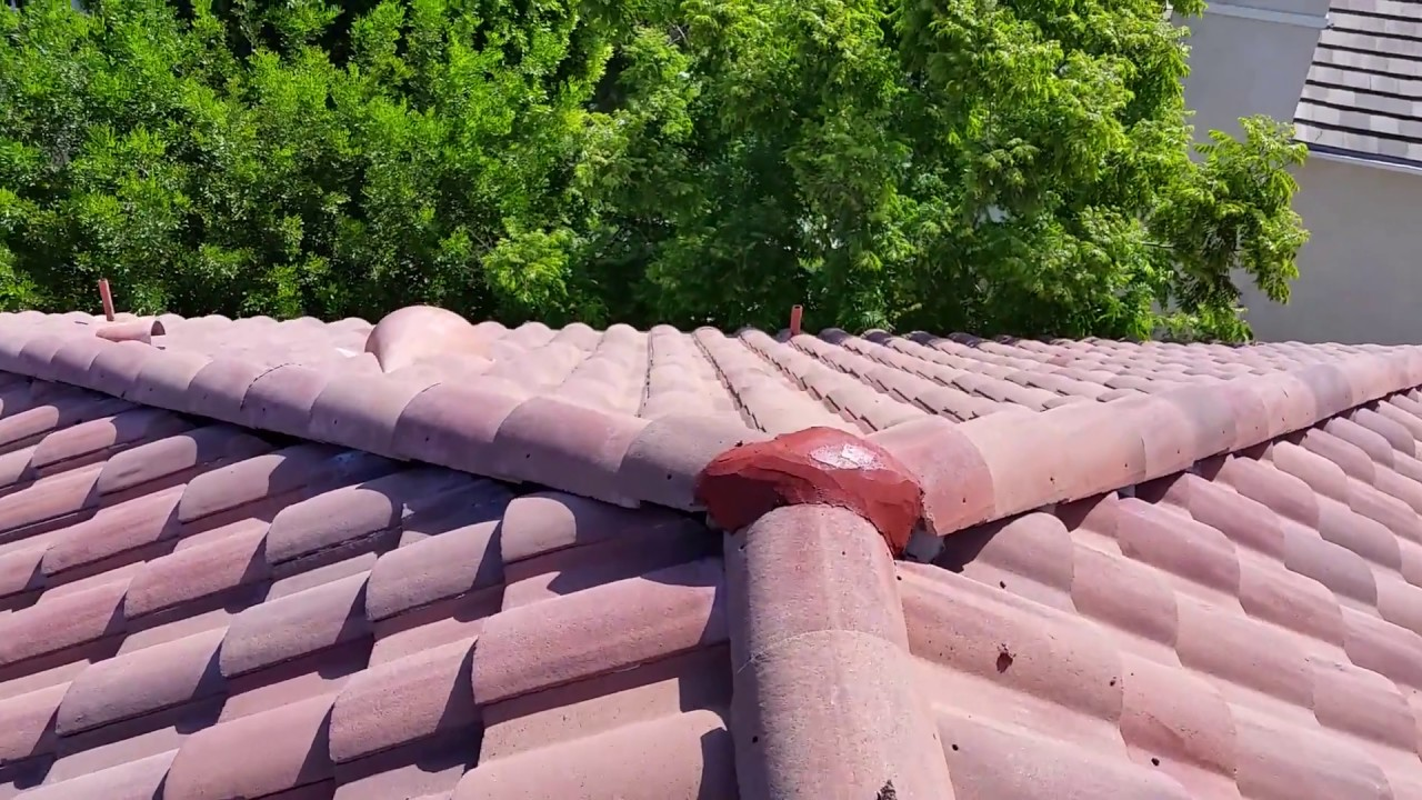 Here S How You Do A Roof Tune Up On A Cement Tile Roof