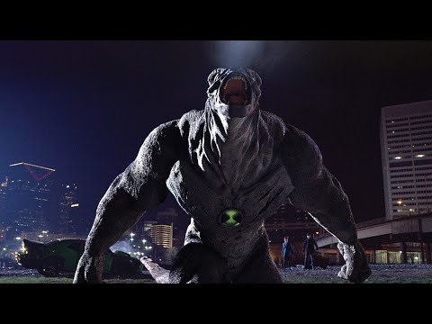 Ben 10: Alien Swarm (2010) - Humungousaur Battles The Nanochips' Giant Spike Ball Fight Scene   [HD]