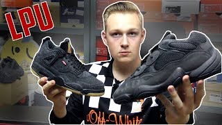LPU i on Feet! YEEZY 500 i Jordan x Levis Black!